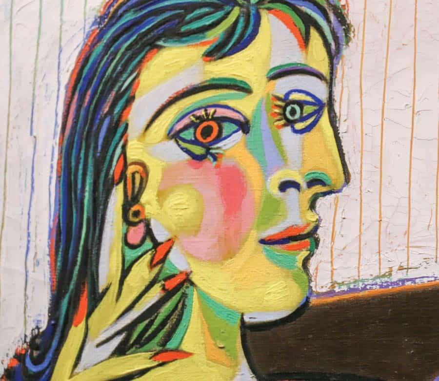 Portrait of Dora Maar - Pablo Picaso