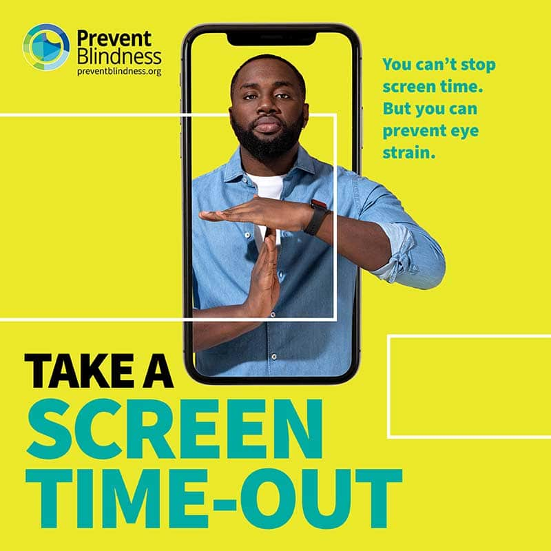 Prevent Blindness Screen Time-Out