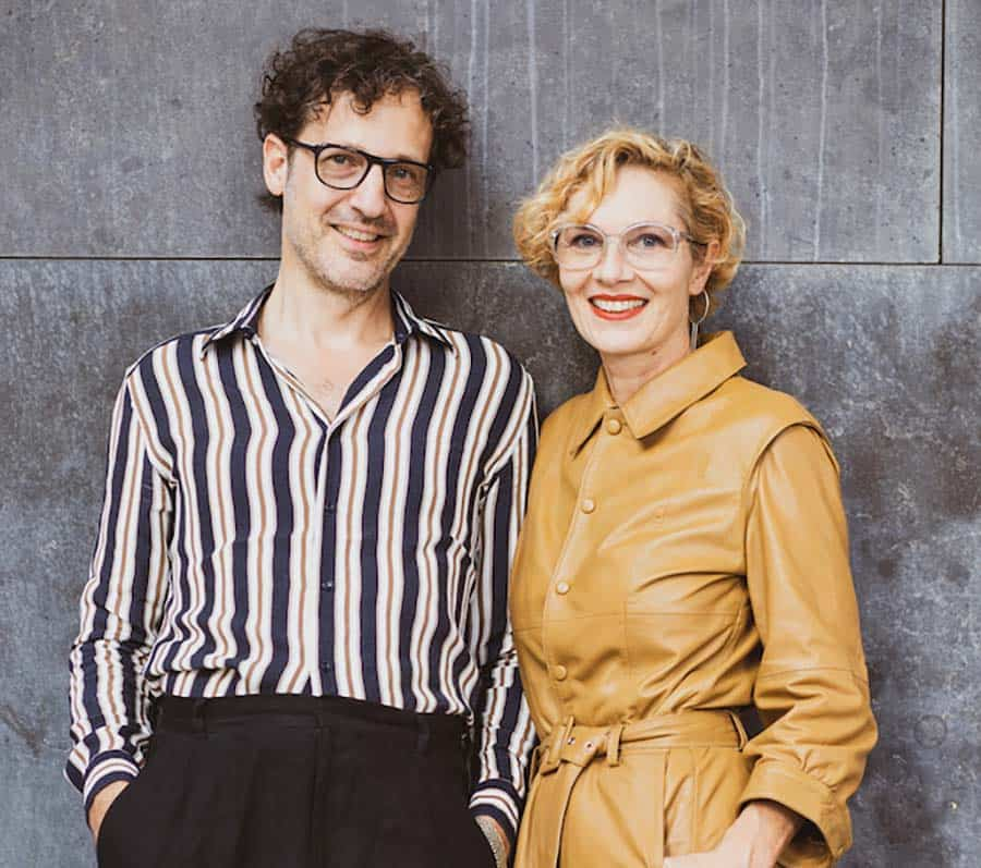 Susanne Klemm and Etienne Frederiks