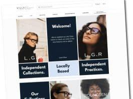 Villa Eyewear Website