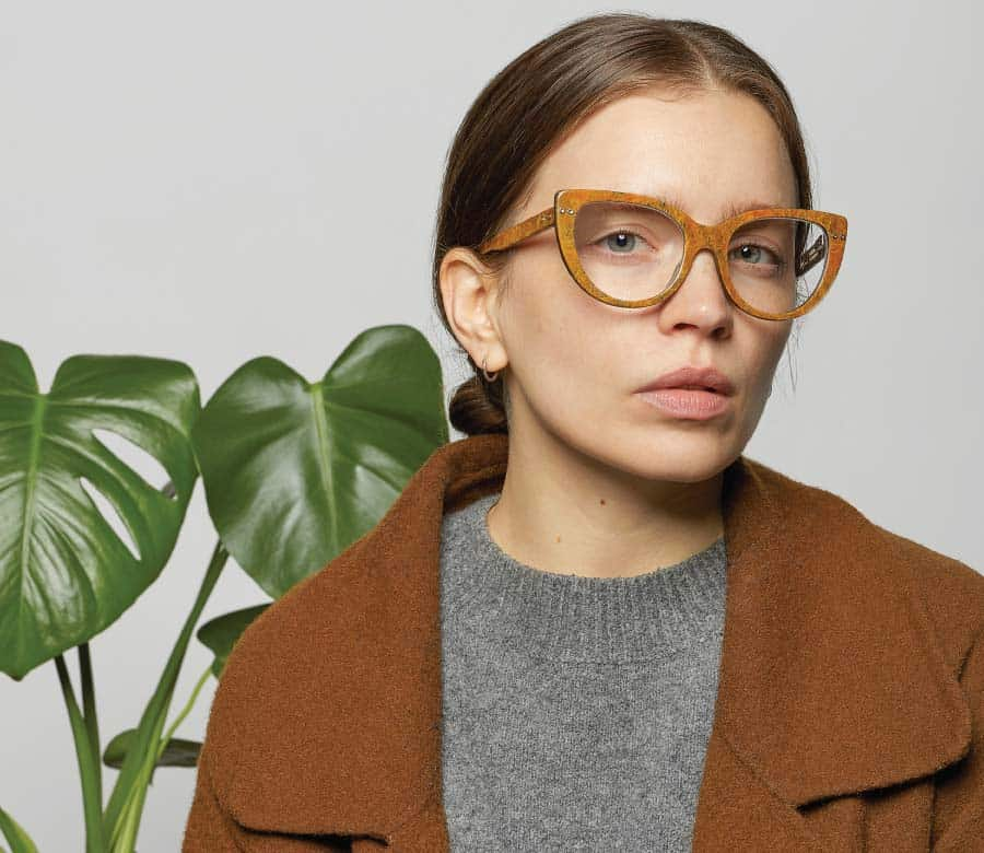 Hemp Eyewear Turmeric Hero