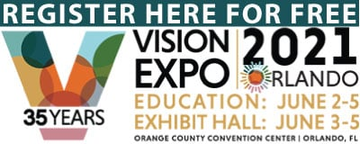 Register for FREE pass to Vision Expo East Orlando