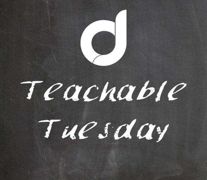 Teachable Tuesday