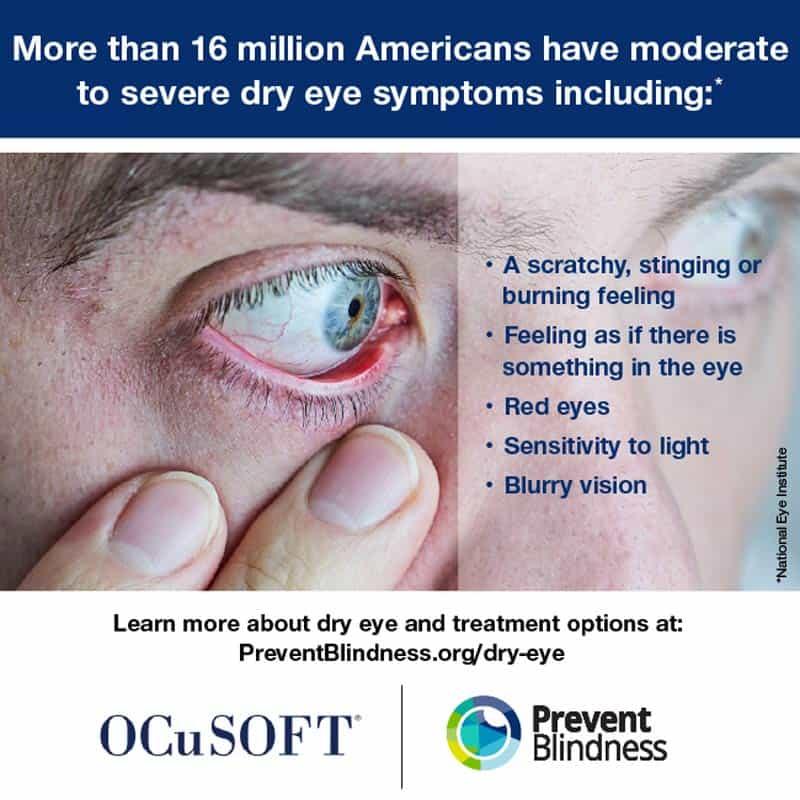 Prevent Blindness Dry Eye