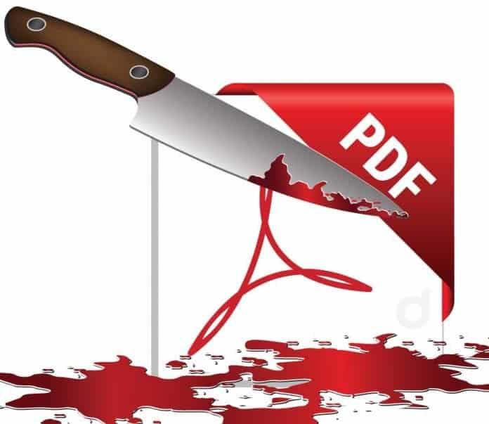 perish the PDF in press releases