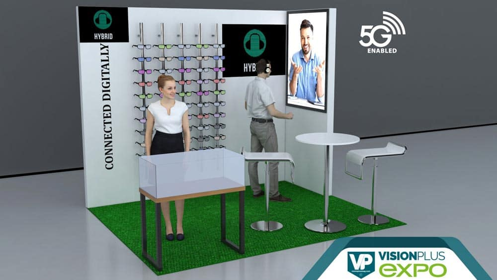VisionPlus EXPO Hybrid Booth