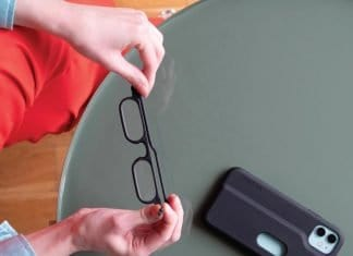 read on - reading glasses and iPhone case
