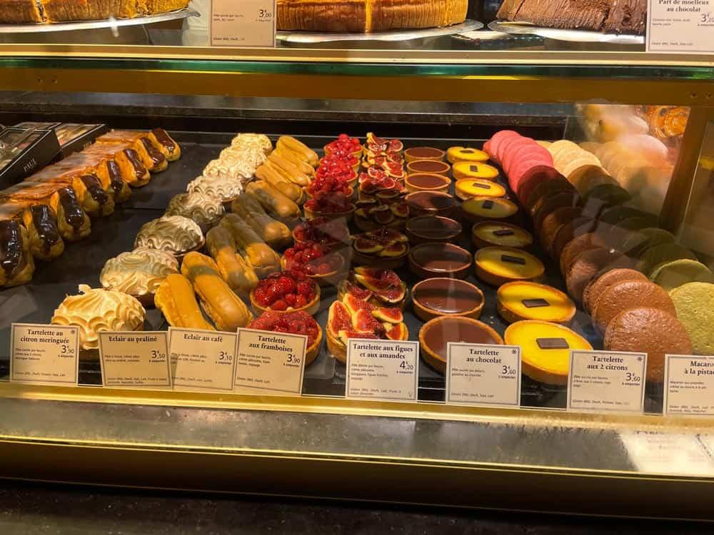 Paris pasteries